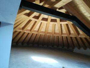 Il tetto in legno