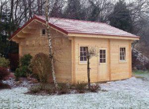Una casa in giardino per gli ospiti