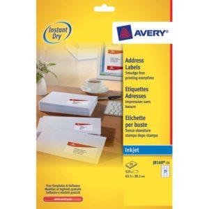 Etichette adesive a marchio Avery