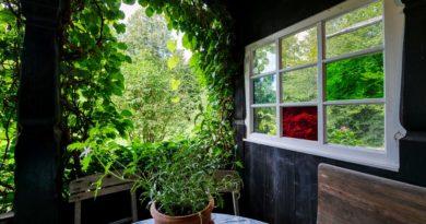 Casette da giardino con portico
