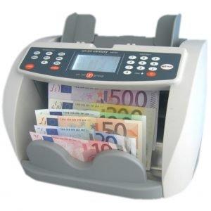 Apparecchi per controllo e conta delle banconote euro