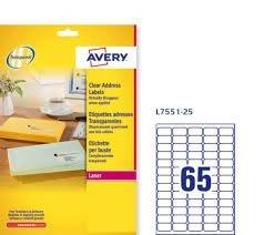Le etichette adesive Avery