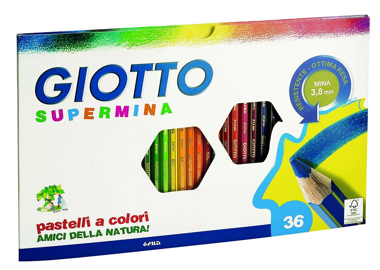 I colori Giotto sono tra i più famosi