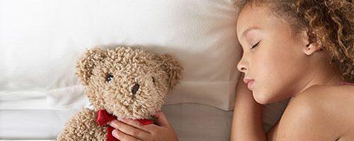 Bambini che dormono male