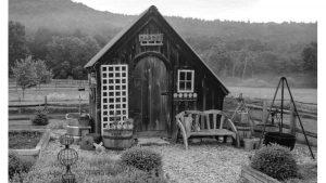 Una casetta in legno comoda e pratica